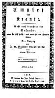 Amulet f  r Kranke PDF