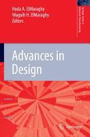 Advances in Design PDF