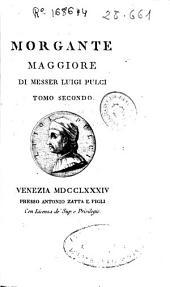 Morgante Maggiore: Volume 1