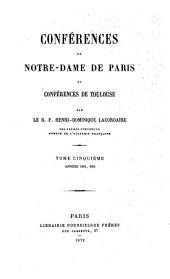 Oeuvres du R. P. Henri Dominique Lacordaire: Volume6
