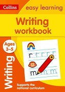 Collins Easy Learning Preschool - Writing Workbook Ages 3-5: New Edition