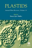 Annual Plant Reviews  Plastids PDF
