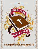 Gratitude Bible Verse Coloring Book for Adults