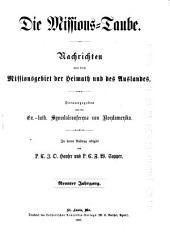 Missions-Taube: Volume 9