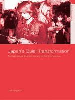 Japan s Quiet Transformation PDF
