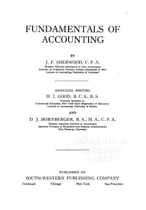 Fundamentals of Accounting PDF
