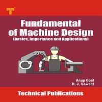 Fundamental of Machine Design PDF