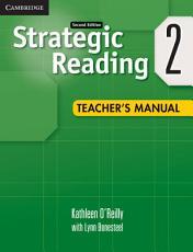 Strategic Reading Level 2 Teacher s Manual PDF