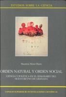 Orden natural y orden social PDF