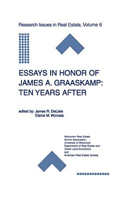 Essays in Honor of James A  Graaskamp  Ten Years After