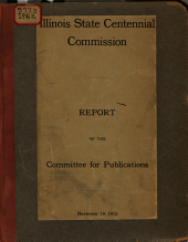 Report of the Committee for Publications. November 19, 1913