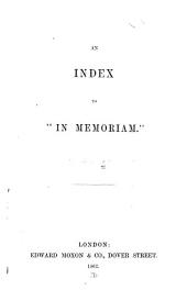 "An Index to ""In Memoriam."""