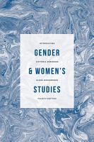 Introducing Gender and Women s Studies PDF