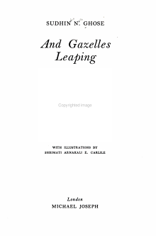 And Gazelles Leaping PDF