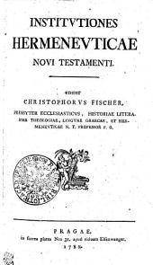 Institutiones Hermeneuticae Novi Testamenti