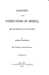 History of the United States from the Discovery of the American Continent: Volume 4