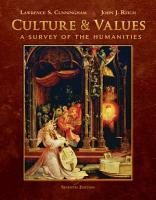 Culture and Values  A Survey of the Humanities  Comprehensive Edition PDF