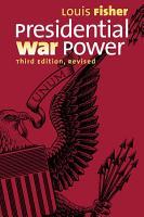 Presidential War Power PDF