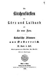 Katholische Stimmen aus Österreich: Volume 2, Issue 4