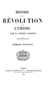 Histoire de la révolution et de l'empire