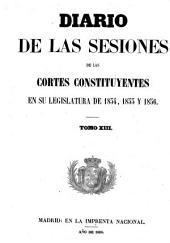 Diario de las sesiones de Cortes: Volumen 13