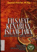 Filsafat kenabian Islam Jawa PDF