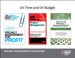 On Time and On Budget  Project Management Collection  4 Books  PDF