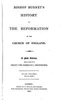 Bishop Burnet s History of the Reformation of the Church of England PDF
