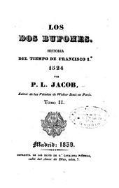 Los dos bufones: Historia del tiempo de Francisco Io 1524
