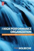The High Performance Organization PDF