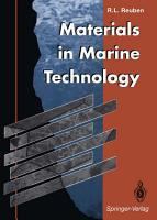 Materials in Marine Technology PDF