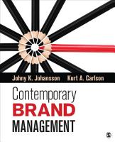 Contemporary Brand Management PDF