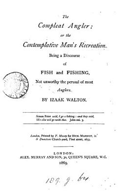 The compleat angler  ed  by A  Murray   PDF