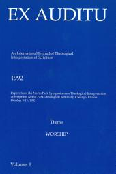 Ex Auditu - Volume 08: An International Journal for the Theological Interpretation of Scripture
