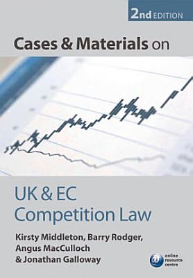 Cases and Materials on UK and EC Competition Law PDF