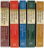 A History of the Book in America, 5-volume Omnibus E-book