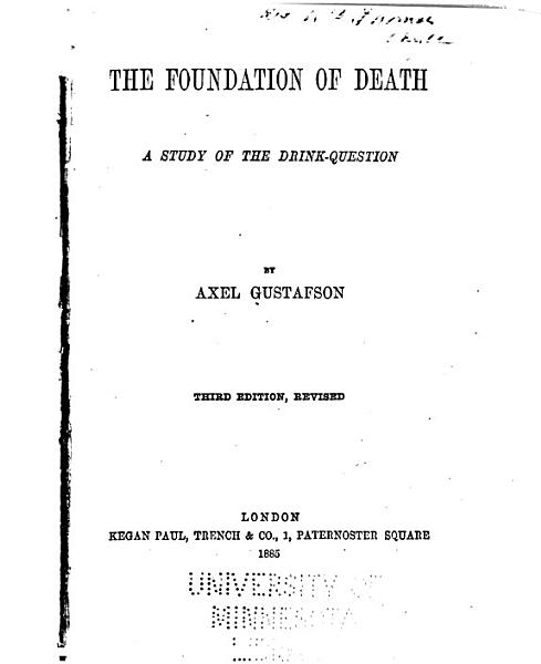 Download The Foundation of Death Book