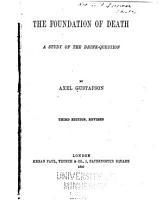 The Foundation of Death PDF
