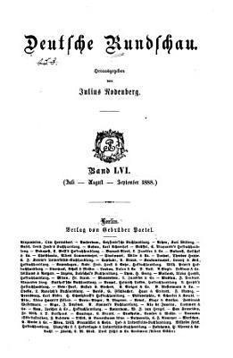 Deutsche Rundschau PDF