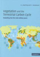 Vegetation and the Terrestrial Carbon Cycle PDF