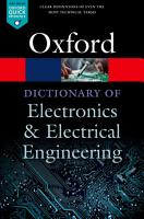 A Dictionary of Electronics and Electrical Engineering PDF