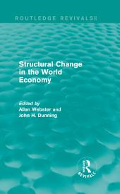 Structural Change in the World Economy (Routledge Revivals)