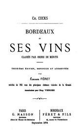 Bordeaux et ses vins: classés par ordre de mérite