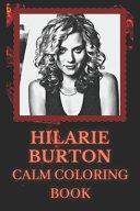 Hilarie Burton Coloring Book