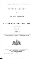 Fourth Report of the Royal Commission on Historical Manuscripts PDF