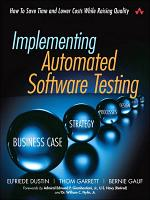 Implementing Automated Software Testing