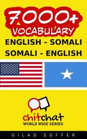 7000+ English - Somali Somali - English Vocabulary