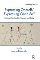 Expressing Oneself   Expressing One s Self PDF