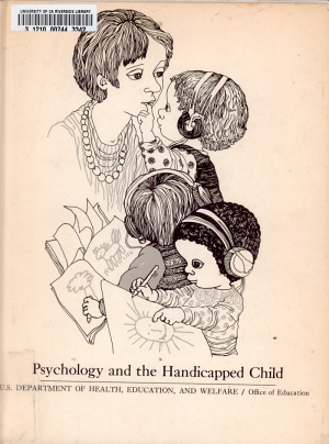 Psychology and the Handicapped Child PDF