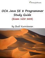 OCA Java SE 8 Programmer Study Guide  Exam 1Z0 808  PDF